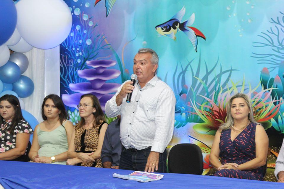 Prefeitura e Secretaria Municipal de Educação promoveu formatura do ABC do Centro Infantil Antônia Jardelina