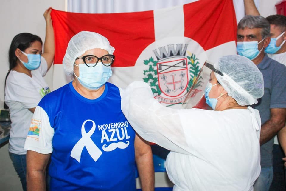 A Secretaria Municipal de Saúde de Frei Martinho PB, recebe as primeiras doses da vacina contra a covid 19