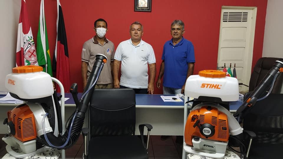 Aquisição de Pulverizadores Costais para higienização em locais públicos.